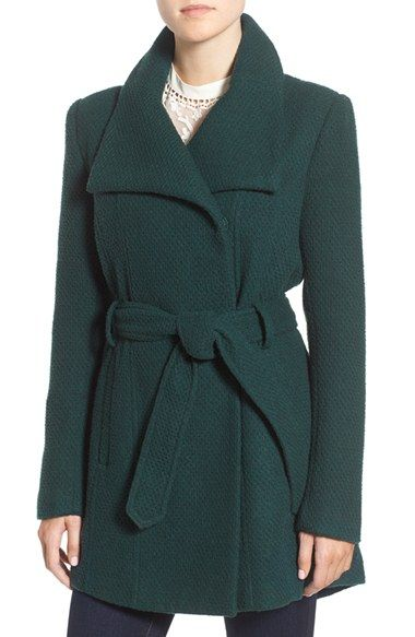 Free shipping and returns on Steve Madden Belted Waffle Woven Coat at Nordstrom.com. Subtle waffle texture adds tactile dimension to this softly structured coat with wide, face-framing draped lapels. A curved hem and waist-cinching belt define a femme silhouette while keeping you warm.