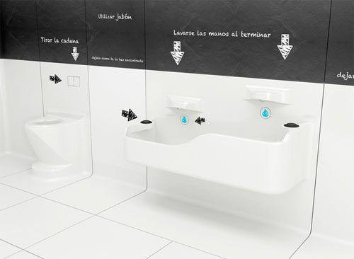 oltre 25 fantastiche idee su bagno per disabili su pinterest ... - Altezza Lavabo Bagno Disabili