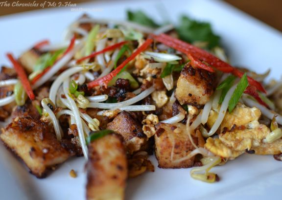 Chai Tow Kway otherwise known as Fried Carrot (Radish) Cake with no carrots in it :)