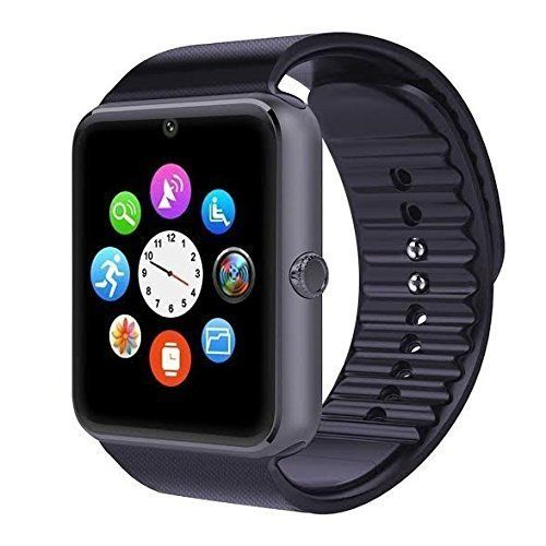 SYL PLUS Bluetooth Smart Watch With Camera and Sim Card Support With Apps like Facebook and WhatsApp For All 3G & 4G Android/IOS Smartphones (BLACK)   Electronics Mobile Speakers MP3/MP4 Accessories Accessories Portable Media Players   Best...