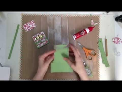 Klein doosje voor merci chocolade - YouTube