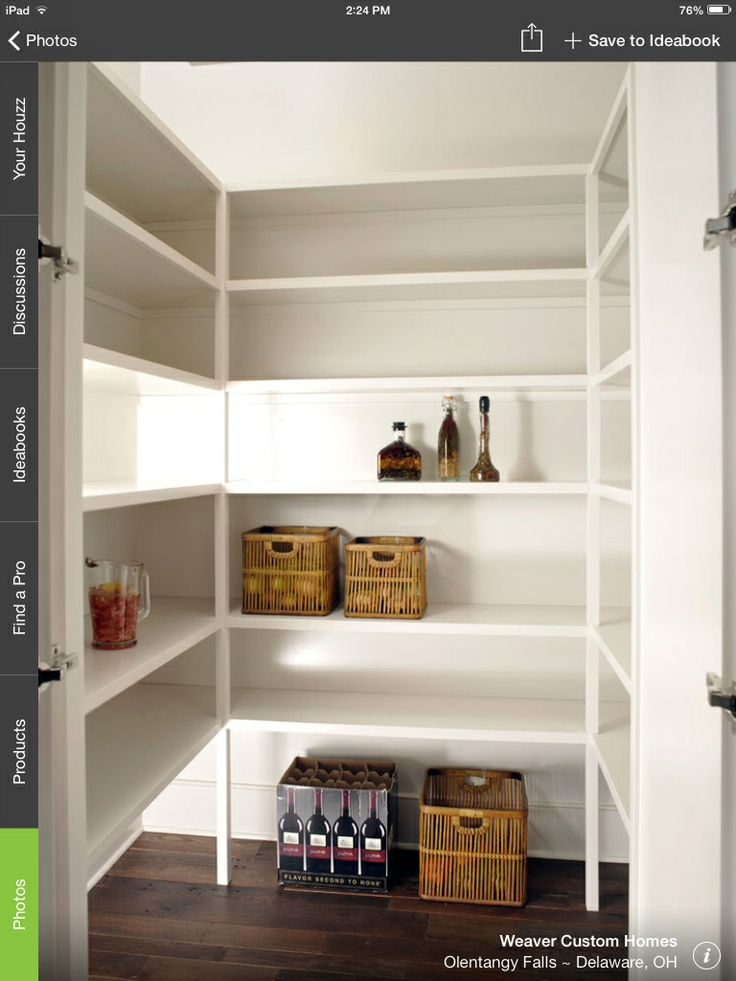 Best Long And Narrow Pantry Kitchen Pinterest 640 x 480