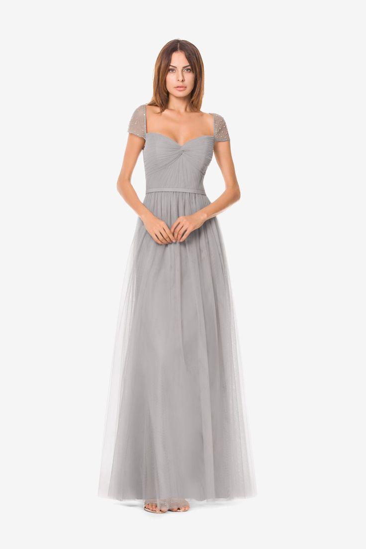 25 B 228 Sta Grey Bridesmaid Gowns Id 233 Erna P 229 Pinterest