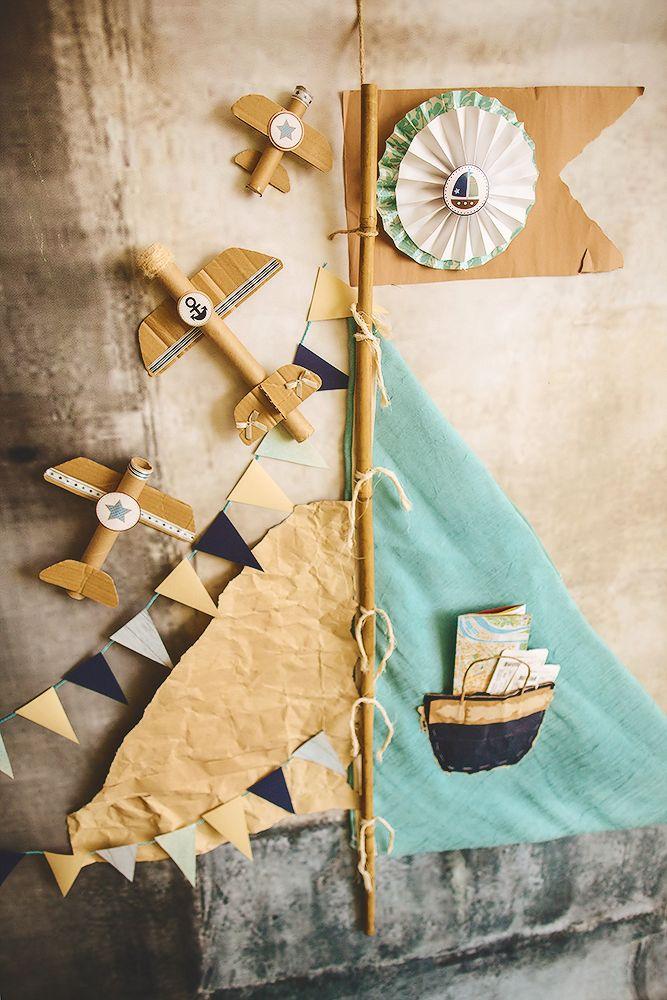 first birthday boy sea party  decor by Julia Shteyzel декоратор Юлия Штейзель