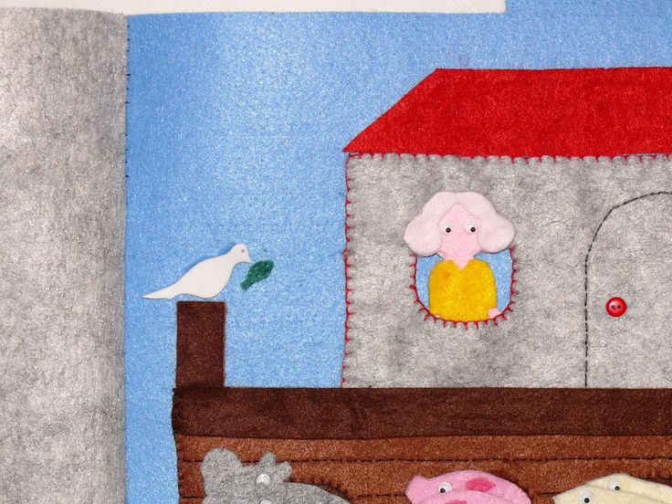 "Libro/gioco in feltro e pannolenci ""Arca di Noè"", arca di noè, arca noè, libro arca di noè, libro arca noè, libro educativo, libri per bambini, Pädagogisches Spielzeug, spielzeug für 2 jährige pädagogisch wertvoll, spielzeug für 2 jährige jungs, baby spielzeug, montessori babyspielzeug, spielzeug ab 3, die Arche Noah, buchen Spiel, Buch Bildung"
