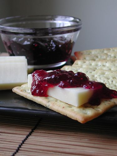 Basil Wine Jelly One of my favorite things to eat is cheese. Soft cheese, hard cheese, French cheese, goat cheese - almost any kind of che...