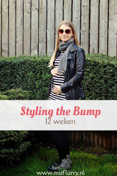 Eerste post uit de serie Styling the Bump, waarin ik mijn zwangerschapsoutfits toon van toen ik zwanger was van Kate. -12 weken zwanger.