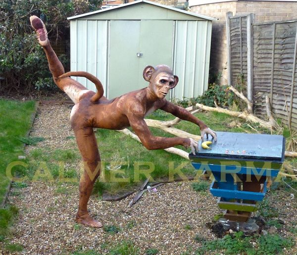 Monkey walkabout act  Hint of Zoo themed entertainment to hire across the UK inc Manchester, London, Birmingham, Brighton and Wales. www.calmerkarma.co.uk Tel:  020 3602 9540