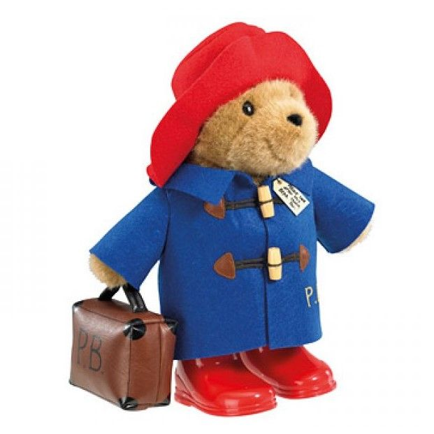 Classic Paddington 35cm with Boots & Suitcase by Rainbow Designs