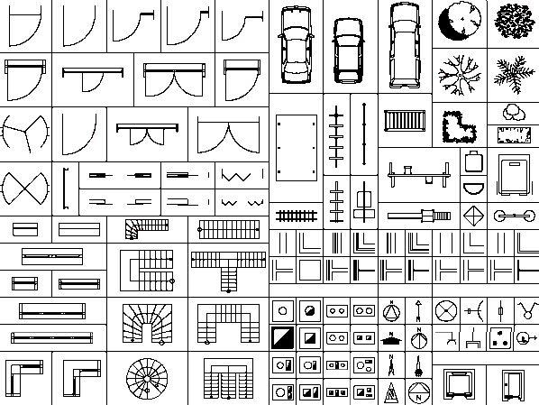 Architectuur symbolen google zoeken interieur for Trap tekenen plattegrond
