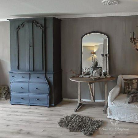 Gray Velvet Slipcover Sofa Rattan Furniture Covers 38 Best Pure&original Fresco/kalkverf Images On Pinterest ...