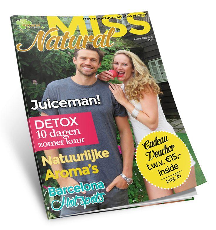 Welkom bij Miss Natural, hét grootste platform gericht op de natuurlijke levensstijl en suikervrij eten. Stop met diëten en start vandaag met de Miss Natural Lifestyle.