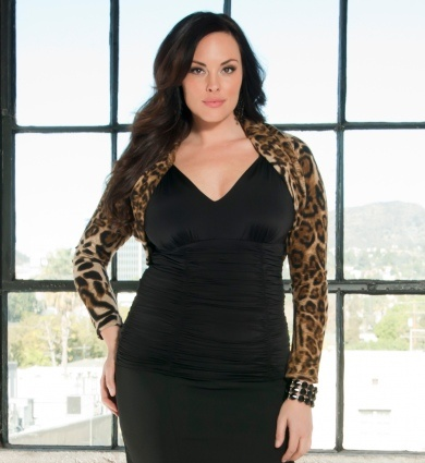 Sophie Sweater Shrug in Leopard!  LOVE IT.  This would make my typically monochromatic wardrobe so much more exciting.