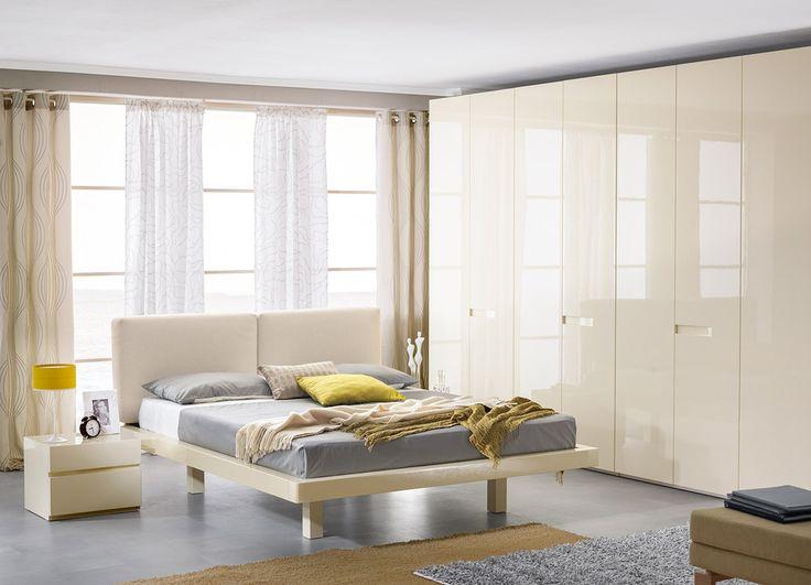 Интерьер светлой спальни в цвете «крем» | Дизайн интерьера современной спальни  #астрон #мебель #astron #спальни