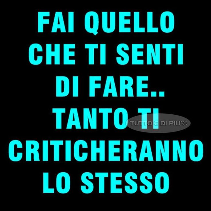 Verissimo! ;-) you should do what like because...no matter what you do you will still be criticized for it