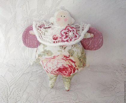 """Куклы Тильды ручной работы. Ярмарка Мастеров - ручная работа. Купить Жук Тильда """"Розовые мечты"""". Handmade. Розовый"""