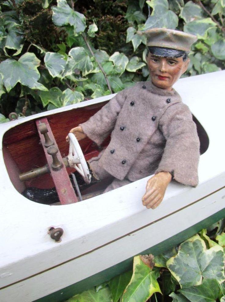 Rare Smaller 6 1/2inch Chauffeur Bucherer SABA Swiss Metal Figure / Doll 1920s   | eBay