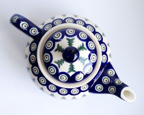 Teapot 1.25l Teapot 1.25l #Boleslawiec #polishpottery #potterycorner
