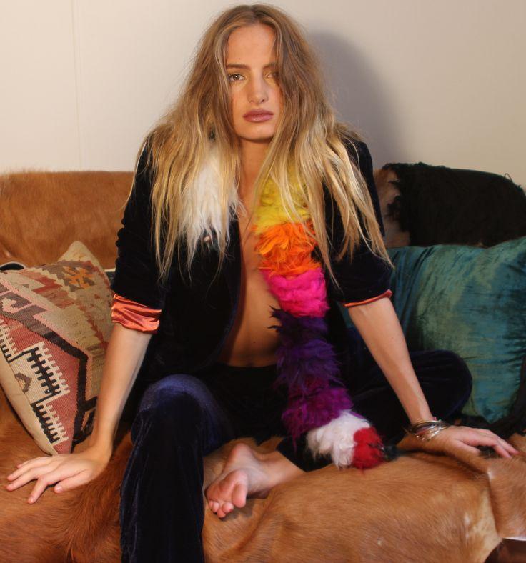 Velvet Underground jacket and pants