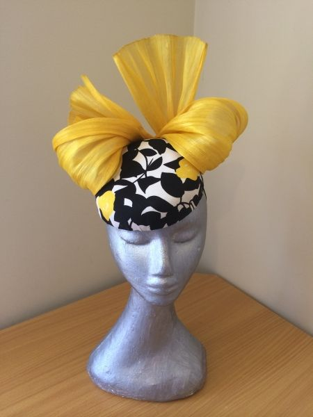 Courtney by LEAH CASSIDY #millinery #HatAcademy #hats