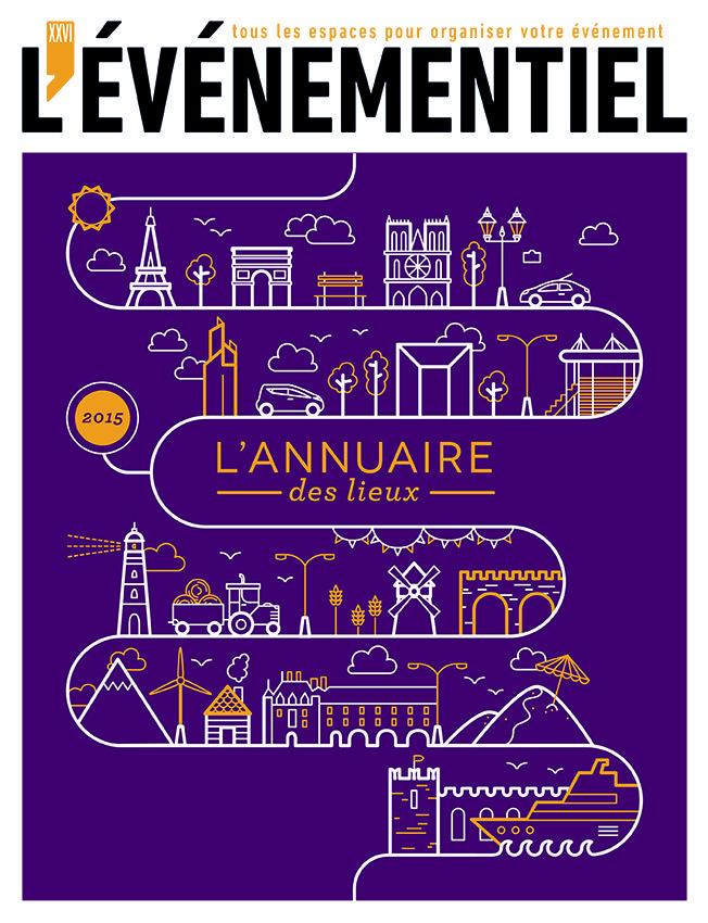 L'annuaire des Lieux 2015 à commander sur :  http://www.evenementiel-boutique.fr/lannuaire-des-lieux-des-agences-et-des-prestataires-2015-xml-352_359-852.html