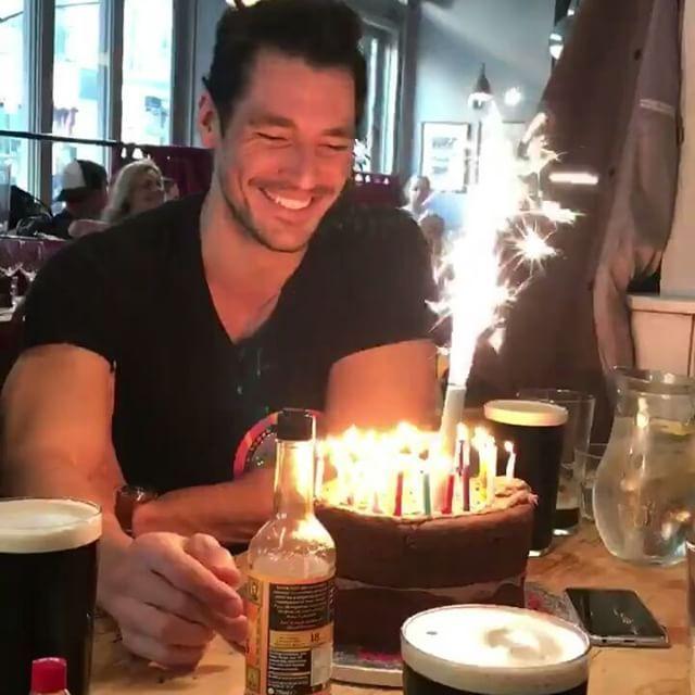 """Happy Birthday David! David Gandy (@ohmygandy) on Instagram: """" #birthdayboy"""""""