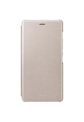 Husa Originala Huawei P9 Lite - Tip Carte Aurie