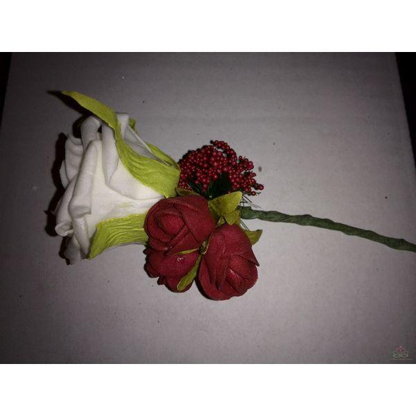 #Corsage Roos   #Decoreren #Bloemschikken  goedkoop-bloemschikken.nl