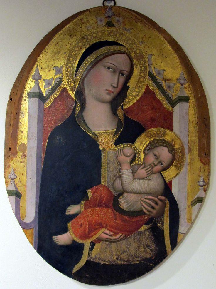Andrea Vanni - Madonna del latte - 1390 ca. - Museo diocesano, Siena
