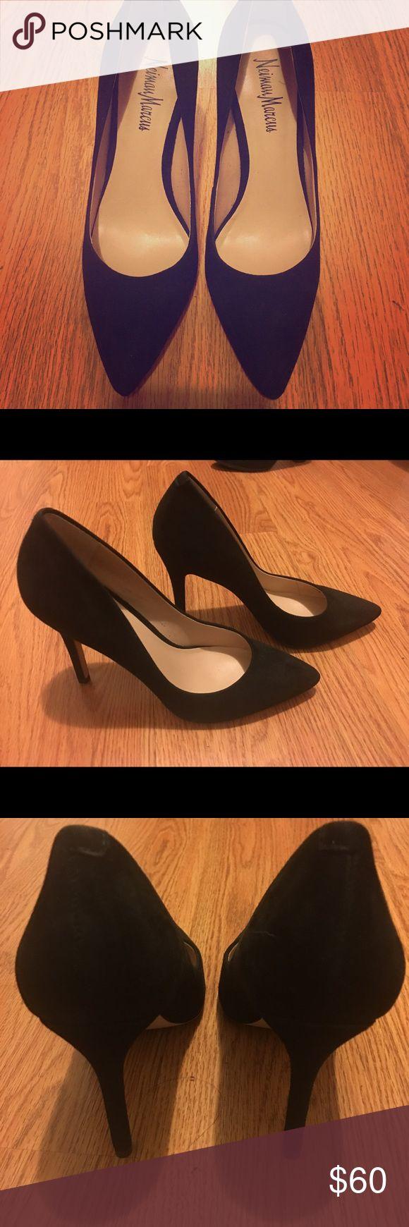Neiman Marcus Stiletto Heels Neiman Marcus Stiletto Heels size 6M worn once Neiman Marcus Shoes Heels