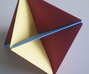 Super Easy Modular Origami Octahedron