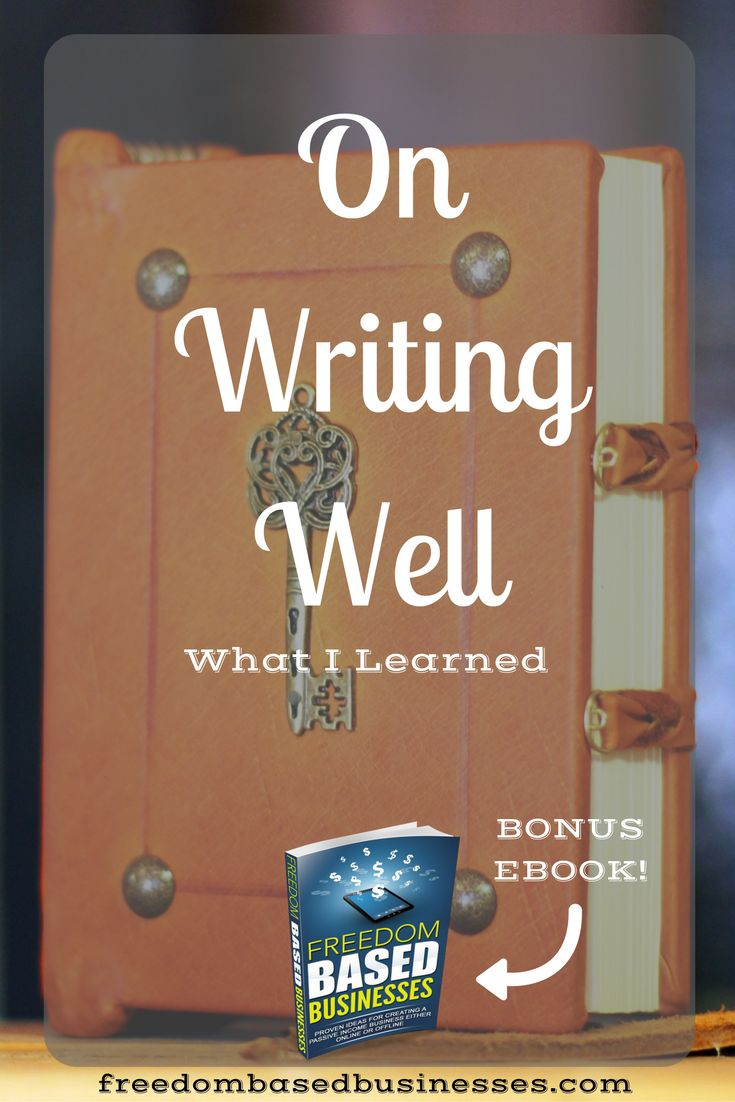 This book helped me out a lot! Read this blog post now to find out how to write well. This book is written by William Zinsser.