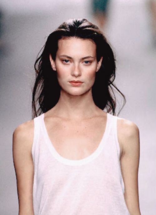 Shalom Harlow, Calvin Klein S/S 1999 | 90s Runway Hair Remains, Untouchable | Into the Gloss