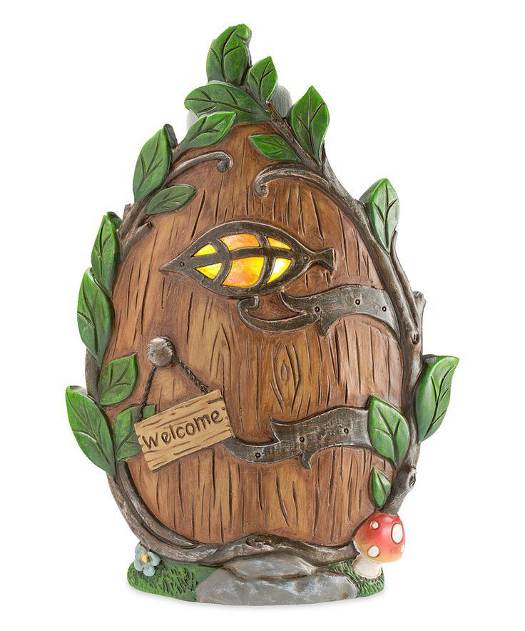 227 best fairy garden images on pinterest fairies garden for Hallmark fairy door