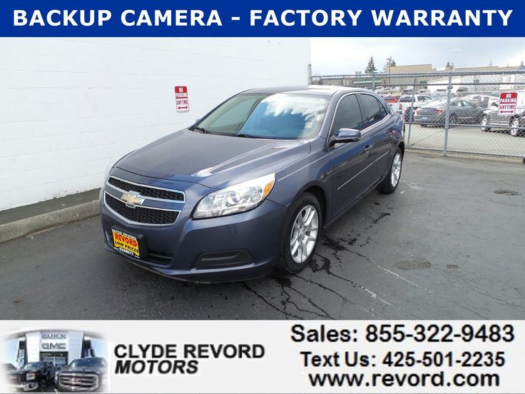 Used 2013 Chevrolet Malibu LT Sedan for sale near you in Everett, WA. Get more information and car pricing for this vehicle on Autotrader.