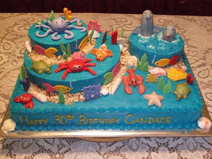 37 bsta bilderna om Ocean Birthday Party p Pinterest