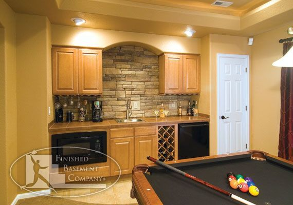 Basement Wet Bar | Basement Wet Bar | For the Home