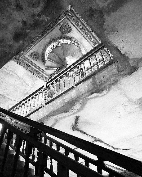 Stairs in Patuxai