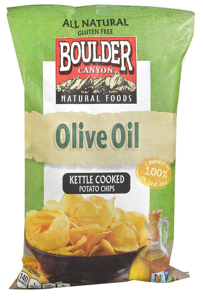 Boulder Canyon Kettle Cooked Potato Chips Olive Oil