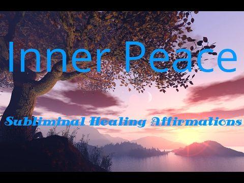 Inner Peace   Subliminal Healing Affirmations   Love   Deep Sleep   Isochrinic   Binaural - CALM Space© PLAY=>