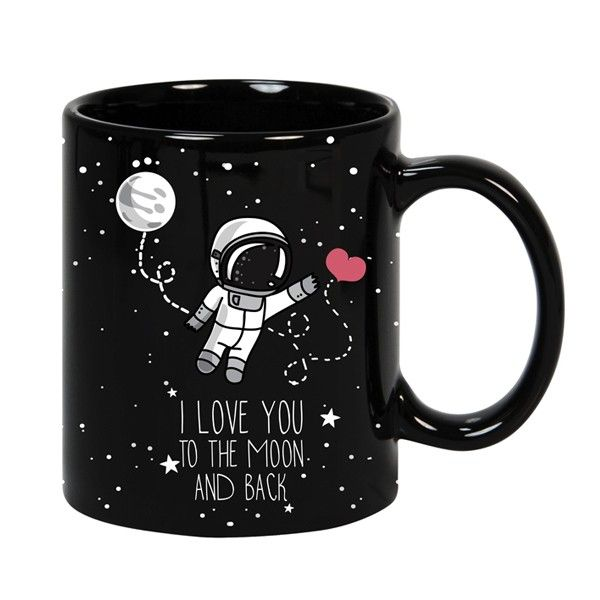 Taza To The Moon Love