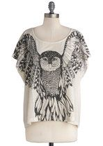 Span of Interests Top - $29.99 via Modcloth (I should really just make an owl board...)