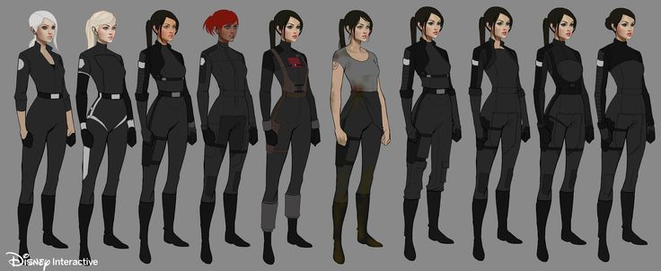 ArtStation - Star Wars mobile game - Disney Interactive, William Nichols