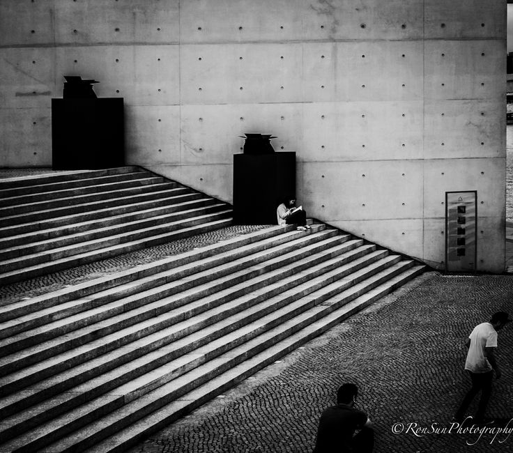 At the steps * by  RonSunPhoto on 500px