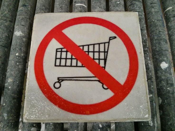 Verbod op winkelwagentjes