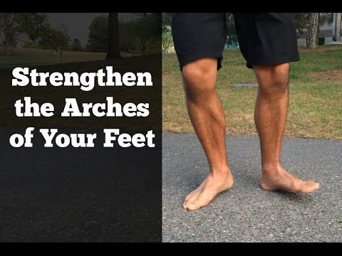 Fix Flat Feet - Exercise for Fallen Arches — VitaMoves