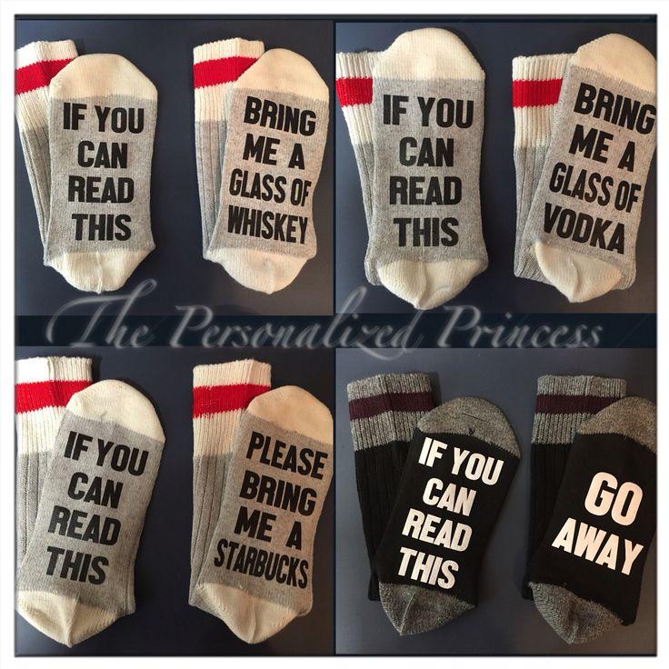 Wine socks and custom socks