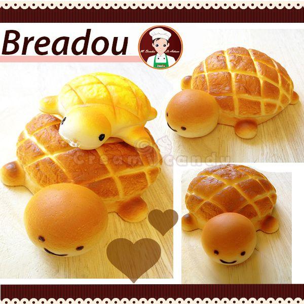 Cute turtle bread