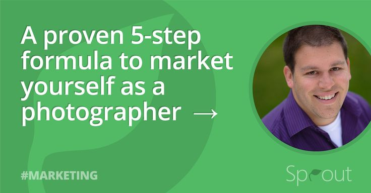 The definition of marketing, and a 5-step formula for marketing yourself as a photographer to guarantee a never-ending stream of business.