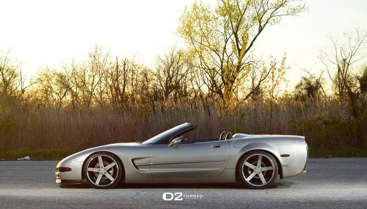 [PICS] C5 Corvette Convertible Widebody on D2FORGED CV2 Colormatched Wheels